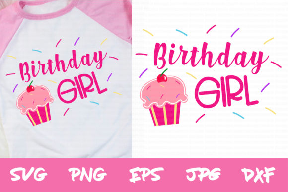 Download Free Girls Birthday Svg Birthday Girl Svg Graphic By Thejaemarie for Cricut Explore, Silhouette and other cutting machines.