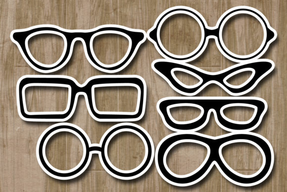 Glasses Graphic By Revidevi Image 2