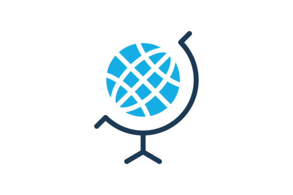 Download Free Globe Icon Graphic By Ahlangraphic Creative Fabrica for Cricut Explore, Silhouette and other cutting machines.