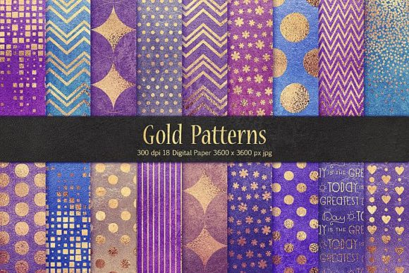 Gold Pattern & Textures