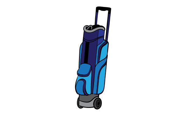 Golf Bag Svg Cut File By Creative Fabrica Crafts Creative Fabrica