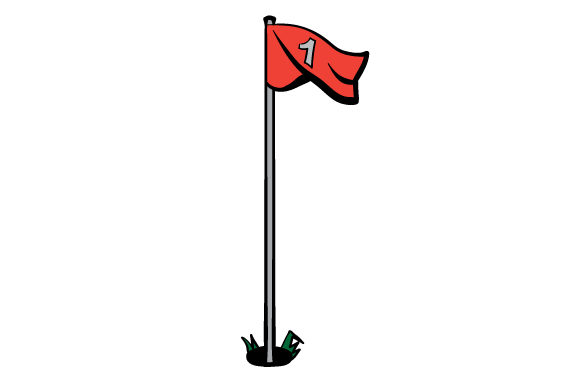 Download Free Golf Flag Pole Svg Cut File By Creative Fabrica Crafts for Cricut Explore, Silhouette and other cutting machines.