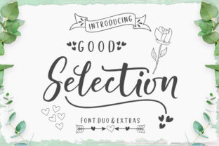 Good Selection Duo Font By Megatype