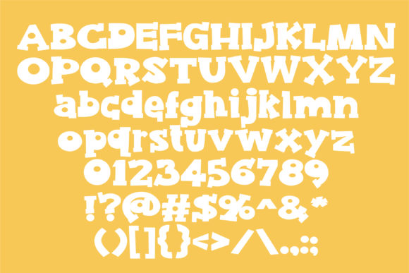 Print on Demand: Gooey Butter Rum Serif Font By Illustration Ink - Image 2
