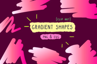 Print on Demand: Gradient Bundle, Holographic Set, Paint Graphic Icons By Inkclouddesign