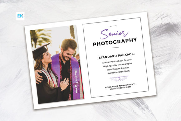 Graduation Photography Flyer (4x6) Graphic By Epickita Image 1