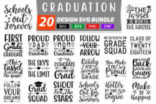 Graduation Bundle Graphic Crafts By SVGstore