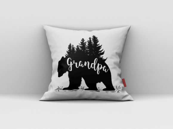 Grandpa Bear Design Graphic Print Templates By AartStudioExpo