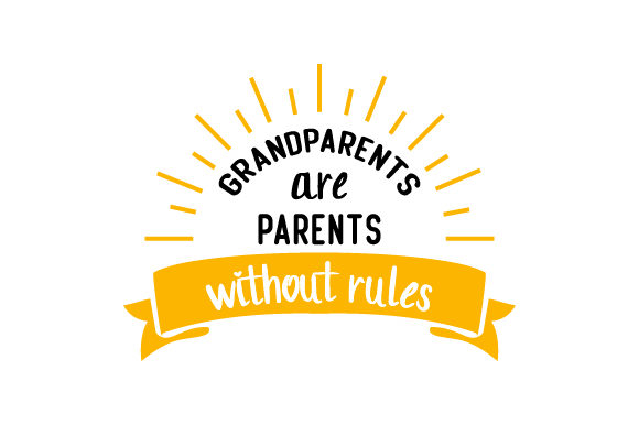 Download Free Grandparents Are Parents Without Rules Svg Cut File By Creative for Cricut Explore, Silhouette and other cutting machines.