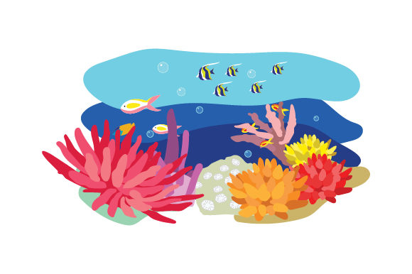 Download Free Great Barrier Reef Svg Cut File By Creative Fabrica Crafts for Cricut Explore, Silhouette and other cutting machines.