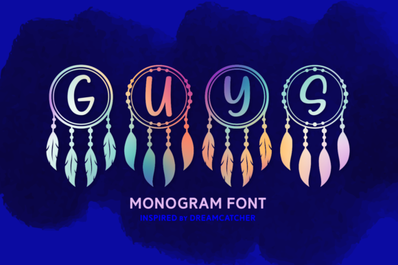 Print on Demand: Guys Script & Handwritten Font By Keithzo (7NTypes)