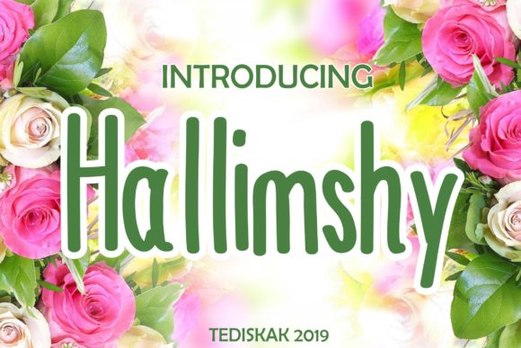 Print on Demand: Hallimshy Color Fonts Font By hai hai