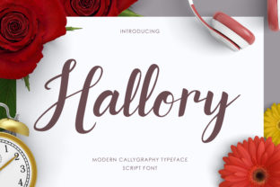 Hallory Font By RezaDesign