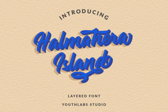 Print on Demand: Halmahera Island Script & Handwritten Font By youthlabs