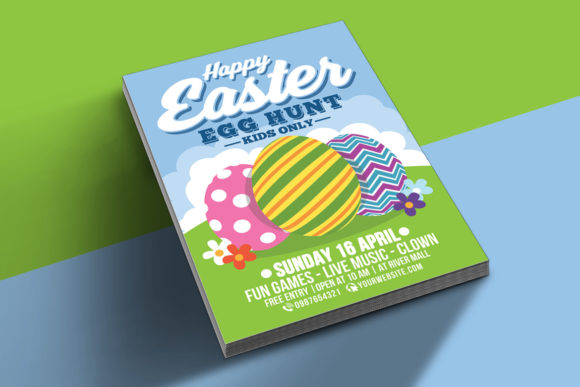 Download Free Happy Easter Egg Hunt For Kids Graphic By Muhamadiqbalhidayat for Cricut Explore, Silhouette and other cutting machines.