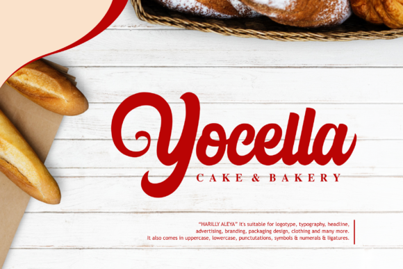 Print on Demand: Harilly Aleya Script & Handwritten Font By Holydie Studio - Image 3