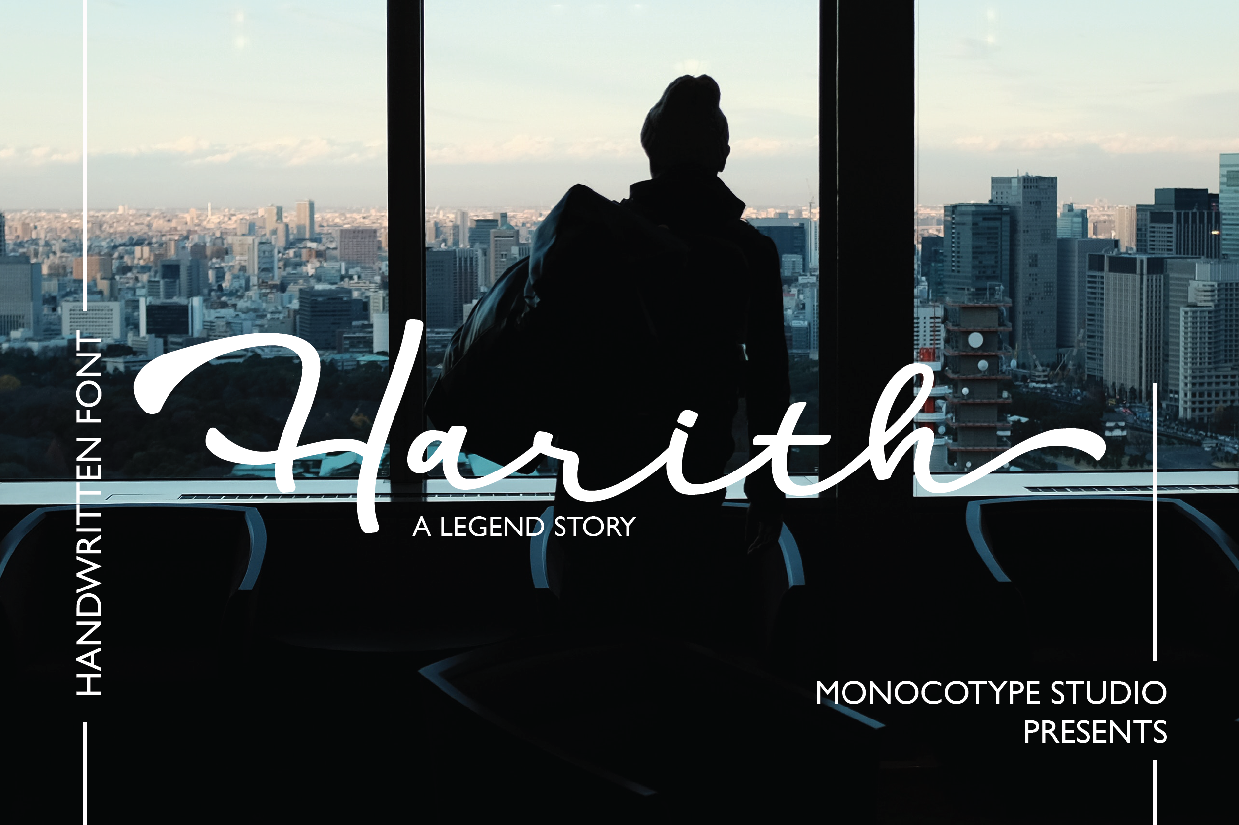 Download Free Harith Script Font By Monocotype Creative Fabrica for Cricut Explore, Silhouette and other cutting machines.