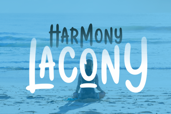 Print on Demand: Harmony Lacony Script & Handwritten Font By Adyfo (7NTypes)
