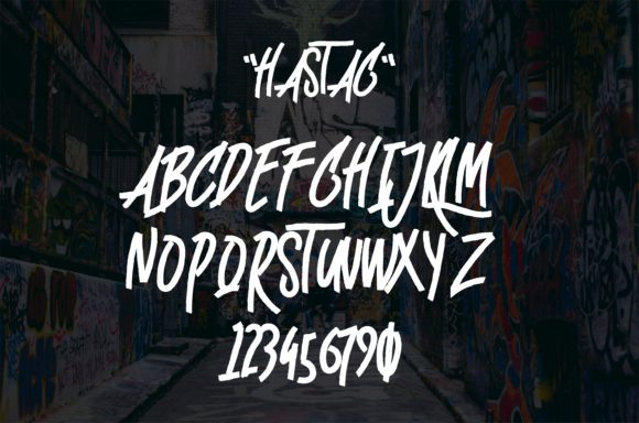 Hastag Font By esto type Image 6