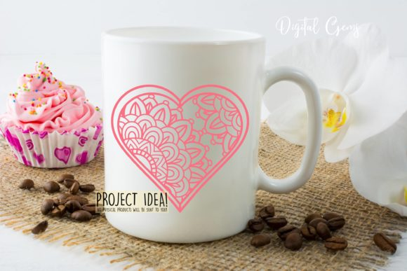 Heart Paper Cut Design Graphic By Digital Gems Image 3