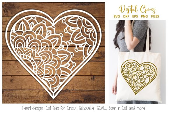 Heart Paper Cut Design Graphic By Digital Gems Image 1