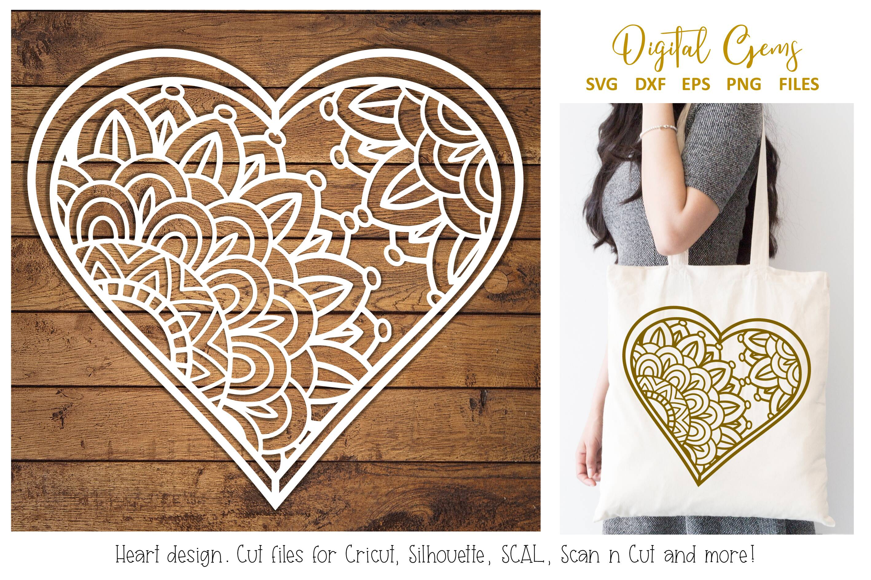 Download Free Heart Paper Cut Design Graphic By Digital Gems Creative Fabrica for Cricut Explore, Silhouette and other cutting machines.