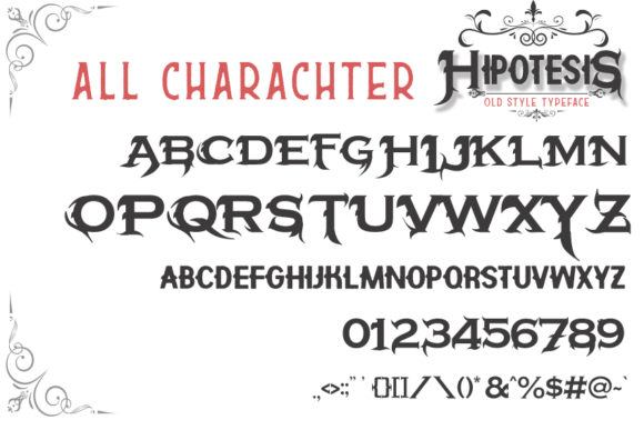 Hipotesis Font By Arendxstudio Image 4