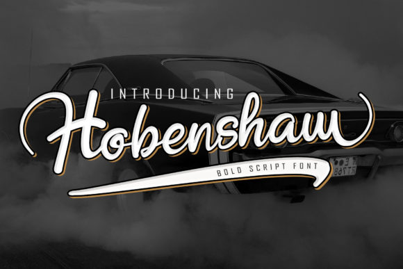 Print on Demand: Hobenshaw Script & Handwritten Font By thomasaradea