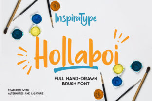 Hollaboi Font By InspiraType