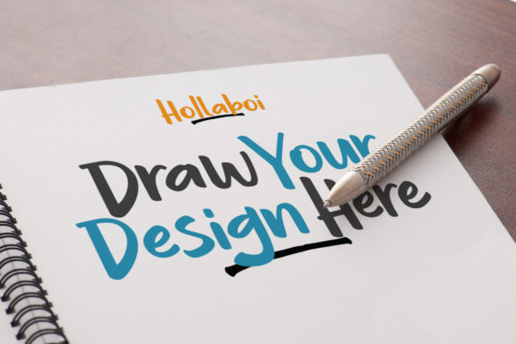 Print on Demand: Hollaboi Display Font By InspiraType - Image 5