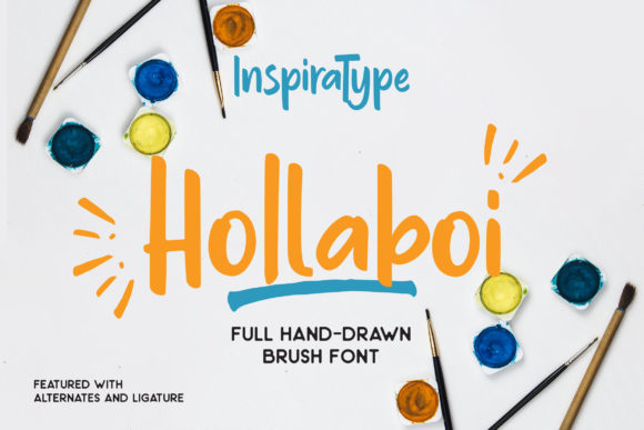 Print on Demand: Hollaboi Display Font By InspiraType - Image 1