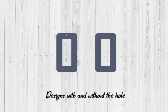 Print on Demand: Hollow Earrings Digital Designs SVG Graphic Crafts By HD Art Workshop - Image 2