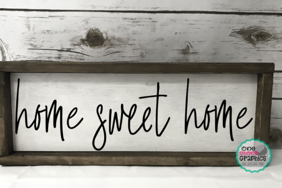 Download Free Home Sweet Home Svg Graphic By Onestonegraphics Creative Fabrica for Cricut Explore, Silhouette and other cutting machines.