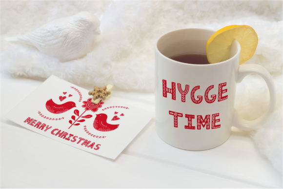 Print on Demand: Hygge Display Font By Alisovna - Image 2