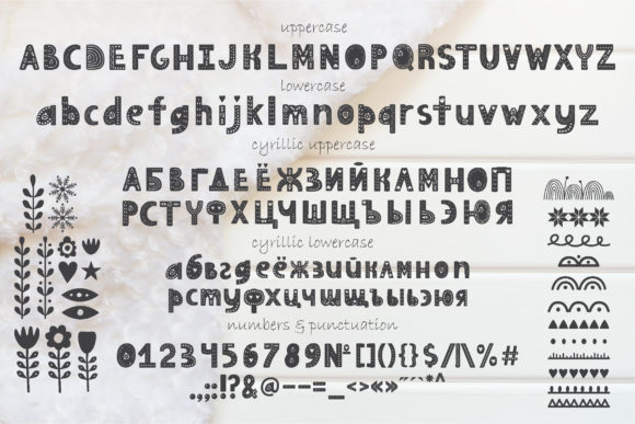 Print on Demand: Hygge Display Font By Alisovna - Image 5
