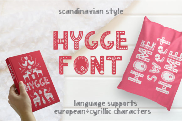 Print on Demand: Hygge Display Font By Alisovna - Image 1
