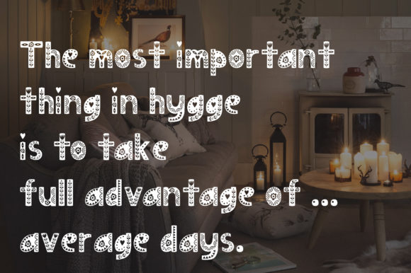 Print on Demand: Hygge Display Font By Alisovna - Image 7