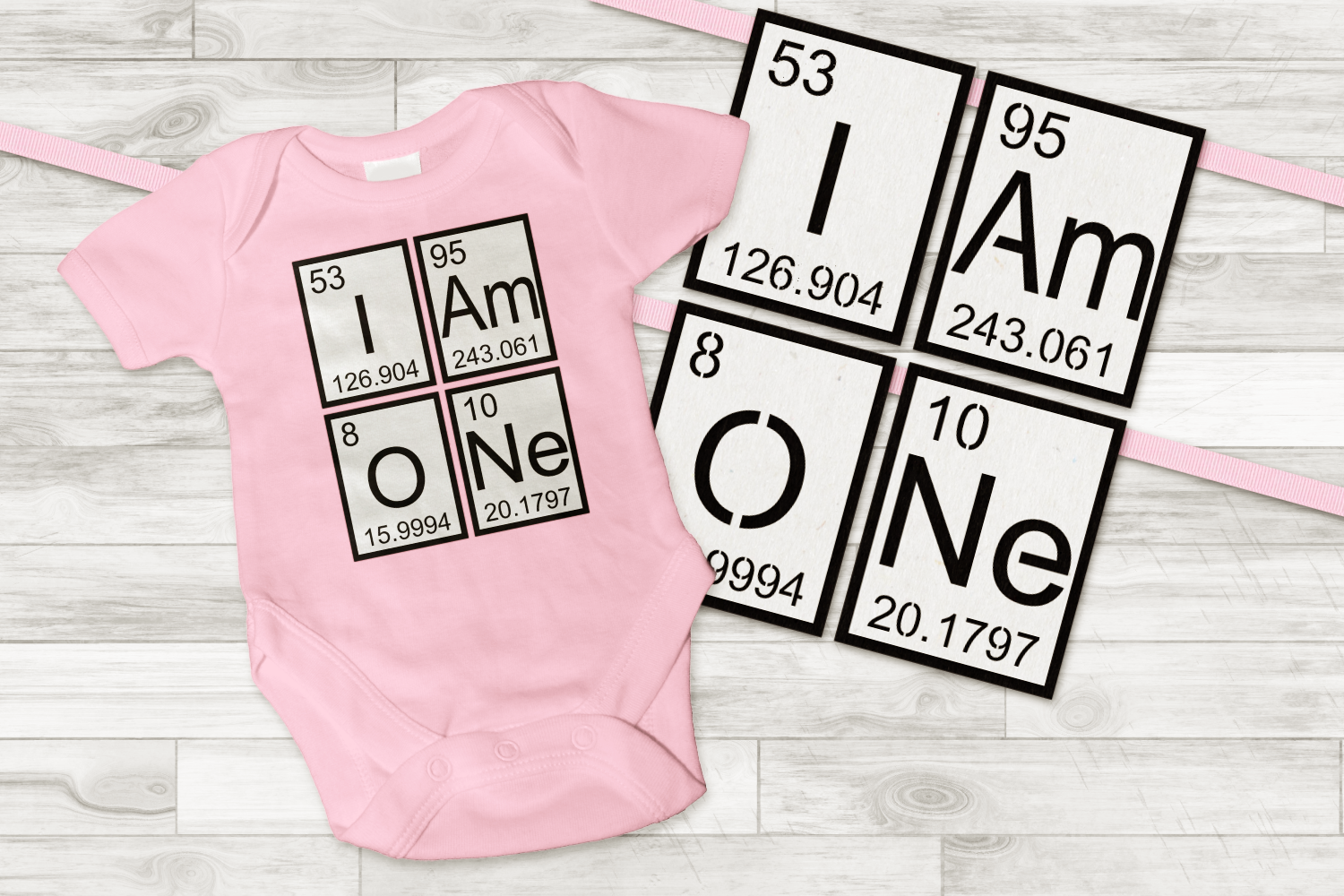 Download Free I Am One Banner Birthday Shirt Graphic By Designedbygeeks for Cricut Explore, Silhouette and other cutting machines.
