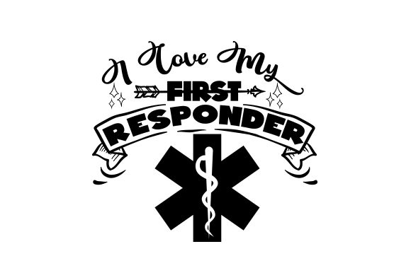 Download Free I Love My First Responder Svg Cut File By Creative Fabrica for Cricut Explore, Silhouette and other cutting machines.