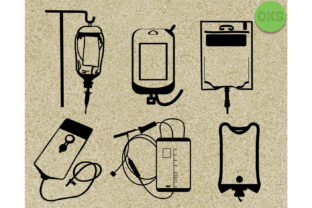 Download Free Iv Fluid Bag Vector File Graphic By Crafteroks Creative Fabrica for Cricut Explore, Silhouette and other cutting machines.