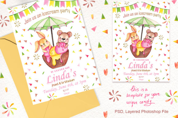 Ice Cream Party Friends Graphic By tanatadesign Image 4
