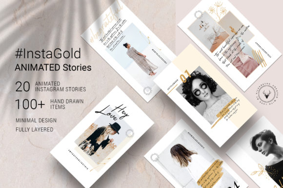 Print on Demand: #InstaGold - Animated Instagram Stories Graphic Websites By SilverStag