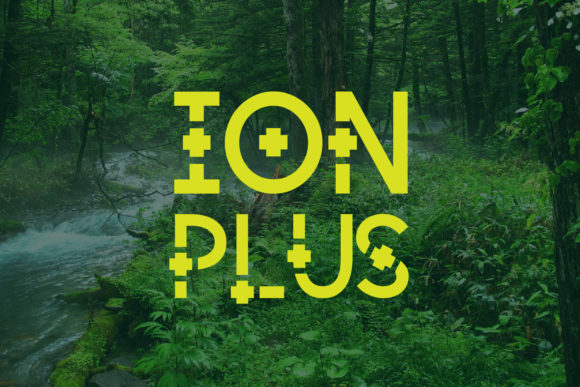 Print on Demand: Ion Plus Decorative Font By da_only_aan - Image 2