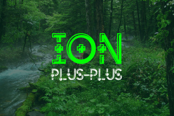 Print on Demand: Ion Plus Decorative Font By da_only_aan - Image 3