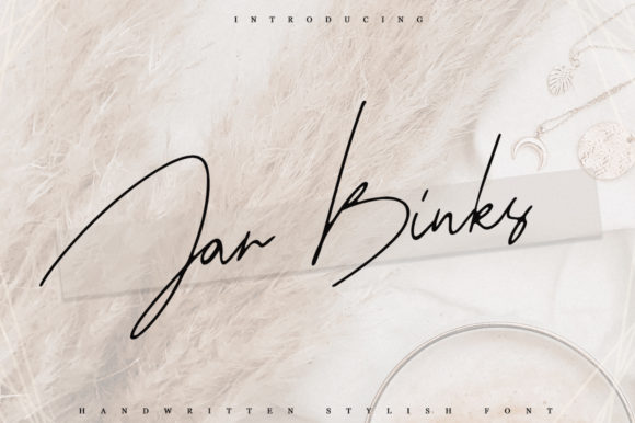 Print on Demand: Jar Binks Script & Handwritten Font By Katie Holland