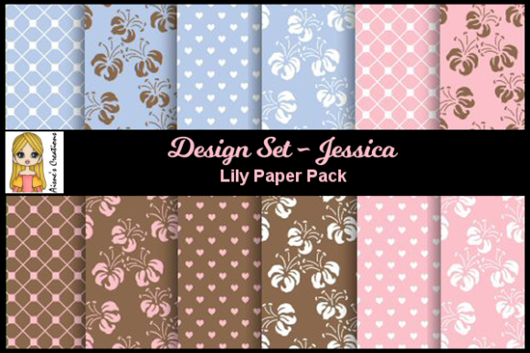 Jessica - Lily Paper Pack Graphic By Aisne