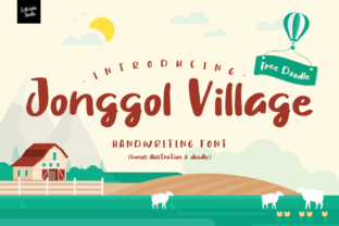 Download Free Jonggol Village Font By Letterain Studio Creative Fabrica for Cricut Explore, Silhouette and other cutting machines.