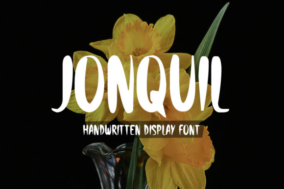 Print on Demand: Jonquil Display Font By Nuovo Tocco