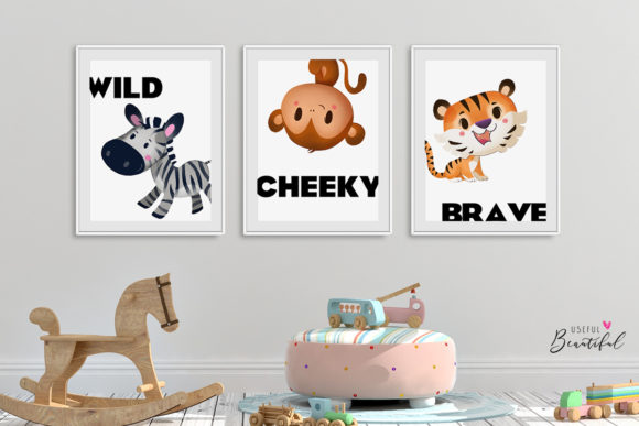 Jungle Friends Clipart Collection 01 Graphic By usefulbeautiful Image 3