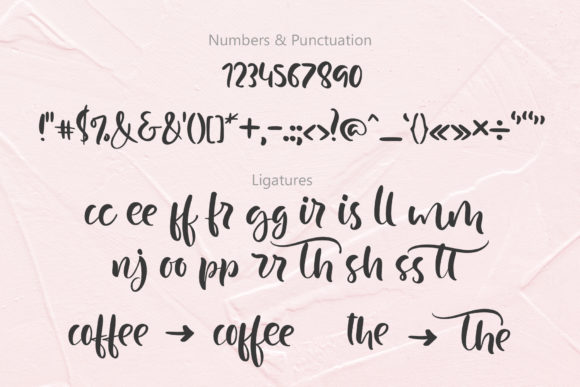 Print on Demand: Just Case Script & Handwritten Font By Happy Letters - Image 5